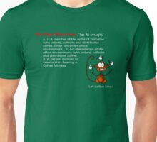 Coffee Monkey - Definition Unisex T-Shirt