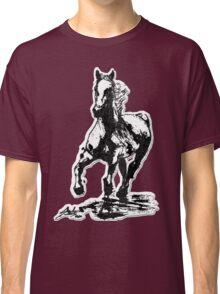 Horses run in her blood Classic T-Shirt