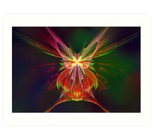 Apophysis Butterfly Art Print