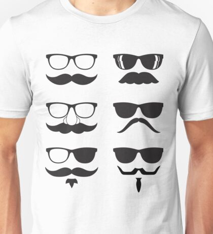 Hipsters Characters Unisex T-Shirt