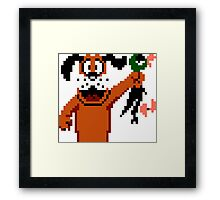 Duck Hunt Dog Framed Print