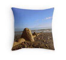 Rosslare Beach, Co. Wexford, Ireland... Throw Pillow
