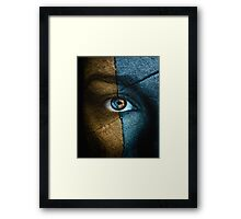 """The divided perception of self..."" Framed Print"