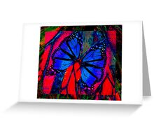 Butterfly Kisses ........ Greeting Card