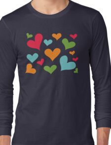 ♥ Sully's hearts ♥ Long Sleeve T-Shirt