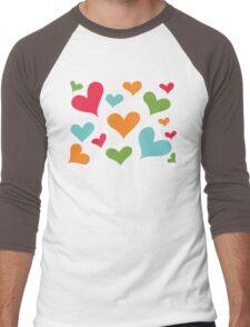 ♥ Sully's hearts ♥ Men's Baseball ¾ T-Shirt