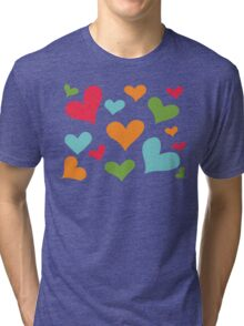♥ Sully's hearts ♥ Tri-blend T-Shirt