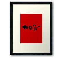 Ness - Over-A Framed Print