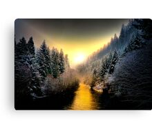 My Kind Of Place ~ Upper McKenzie River ~ Canvas Print