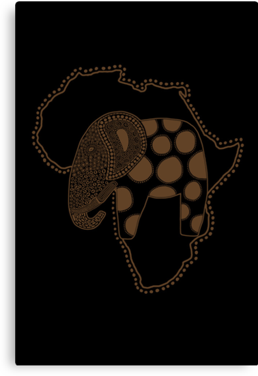 An Elephant in Africa by perdita00