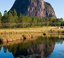 Mt Tibrogargan Reflection by Jaxybelle