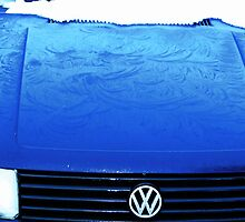 Bonnet Frozen Blue by GeorgeGS