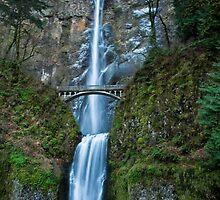 Multnomah Falls by Adam Northam