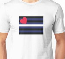 Leather Pride Flag Unisex T-Shirt