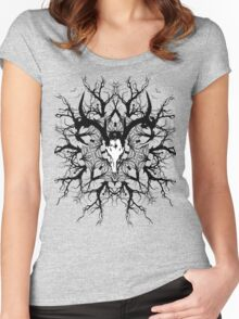 Pagan mandala Women's Fitted Scoop T-Shirt