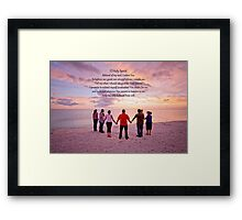 O Holy Spirit, Beloved of my soul . . . Framed Print