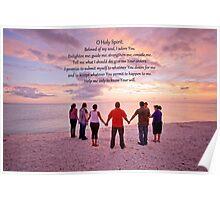 O Holy Spirit, Beloved of my soul . . . Poster