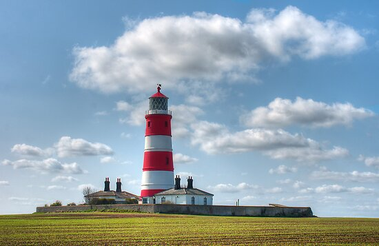 Happisburgh Lighthouse by John Dickson