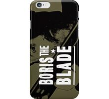 Boris the Blade iPhone Case/Skin