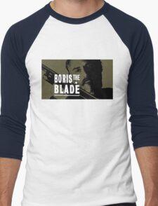 Boris the Blade Men's Baseball ¾ T-Shirt