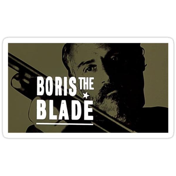 Boris the Blade by Erik Johnson