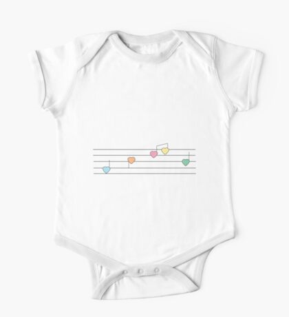 Musical Hearts Kids Clothes