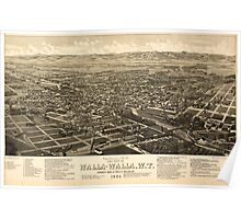 Panoramic Maps Fairport NY 002 Poster