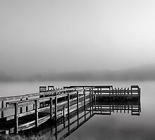 Spencer lake Jetty by iamwiley
