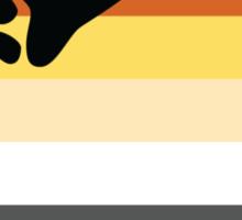 Bear Brotherhood Pride Flag Sticker