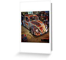 Garaged Greeting Card