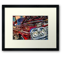 Low Ridin Framed Print