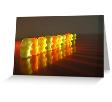 Attention Bears Greeting Card