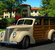 1937 Ford Woody Station Wagon by TeeMack