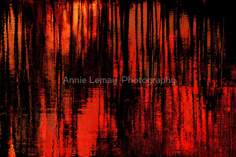 Liquid Love in Red by Annie Lemay  Photography