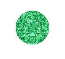 green heart chakra Photographic Print