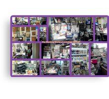 My Humble Abode & STUDIO Canvas Print
