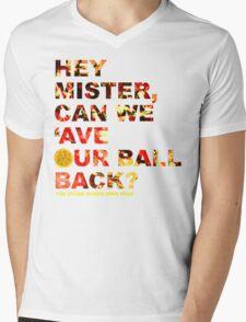 Hey Mister / White Mens V-Neck T-Shirt