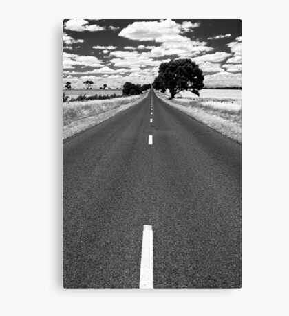 The road goes ever on - Victoria Canvas Print