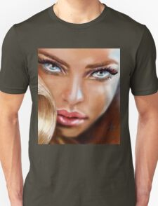 Blue Eyes Sensual Unisex T-Shirt