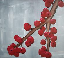 Cranberry Branch by 324heathers