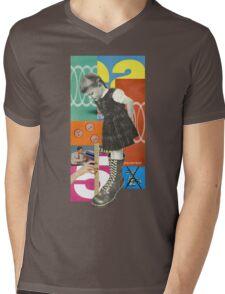 Fitting Mens V-Neck T-Shirt