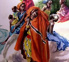 African girls  by goldyparazi