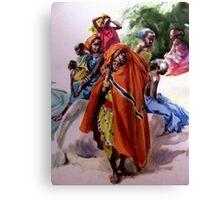 African girls  Canvas Print