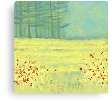 Meadow near Périgueux Canvas Print