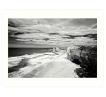 Three seconds in thousands of years - Great Ocean Road Art Print