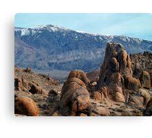 Across Owens Valley - U.S. Highway 395 California Canvas Print