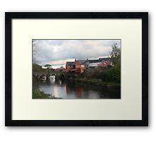 Tranquil Crossing Framed Print