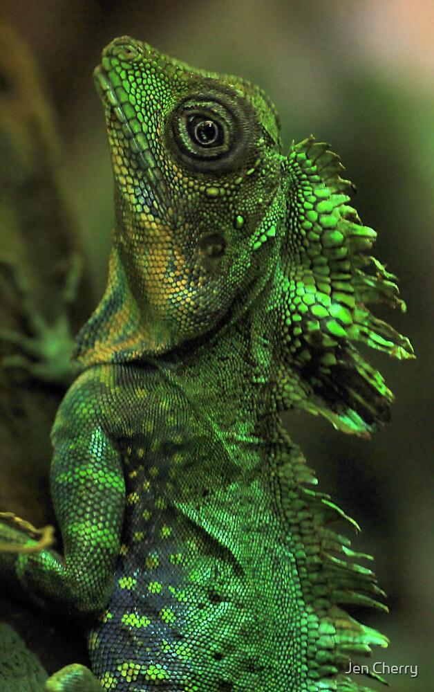 Emerald Scales by Jen Millard