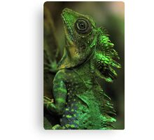 Emerald Scales Canvas Print