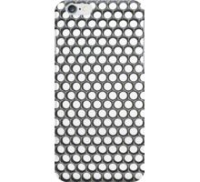 honeycomb chrome 1 iPhone Case/Skin